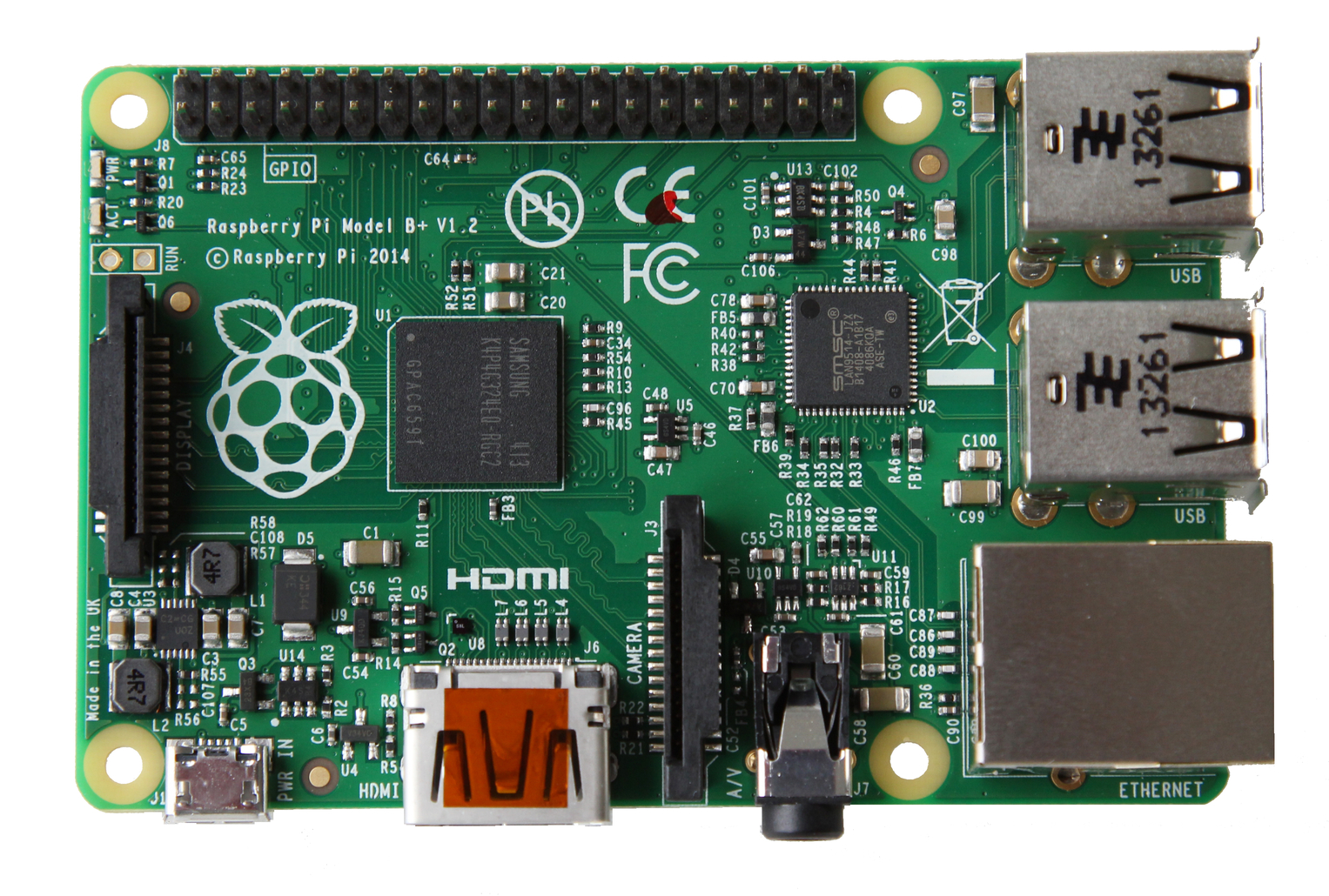 Nas of raspberry pi 2