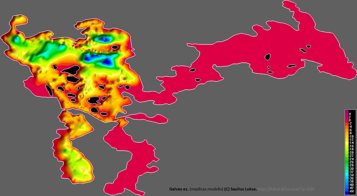 Galvės žemėlapis iš mano surinktų duomenų
